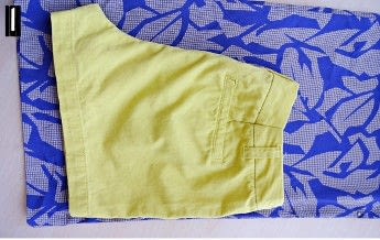 How to sew a romper. Open Back Romper Refashion - Step 1