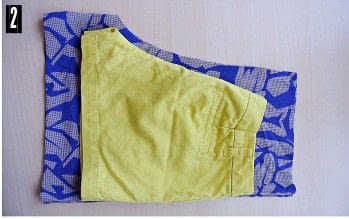 How to sew a romper. Open Back Romper Refashion - Step 2