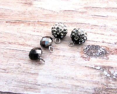 How to make a dangle earring. Double Chain Drop Stud Earrings - Step 3