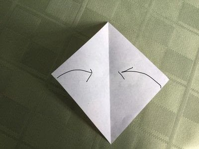 How to make an origami flower. Origami Aster - Step 3