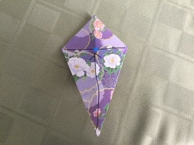 How to make an origami flower. Origami Aster - Step 7