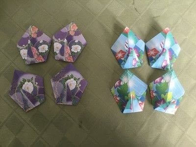 How to make an origami flower. Origami Aster - Step 10