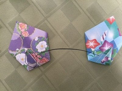 How to make an origami flower. Origami Aster - Step 11