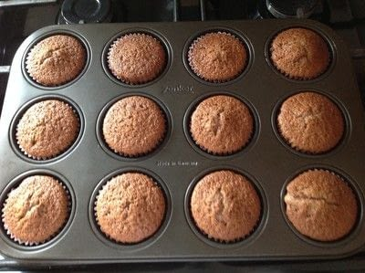 How to bake a chocolate cake. Chocolate Cupcakes  - Step 4