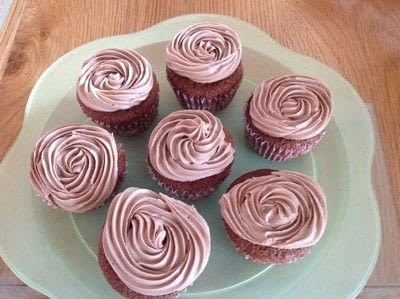 How to bake a chocolate cake. Chocolate Cupcakes  - Step 5
