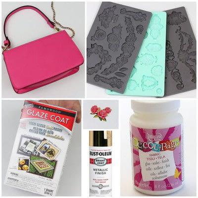 How to make a handbag. Dolce & Gabbana Inspired Handbag - Step 1
