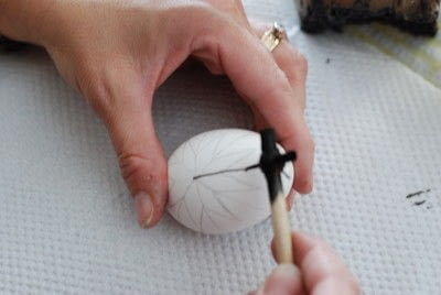 How to make a decorative egg. Pysanky - Step 6