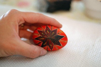 How to make a decorative egg. Pysanky - Step 14