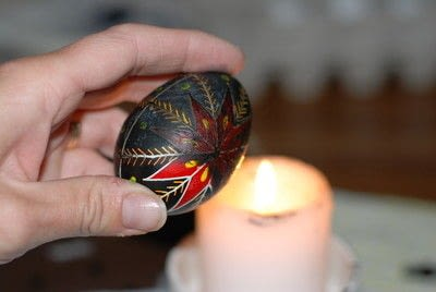 How to make a decorative egg. Pysanky - Step 16