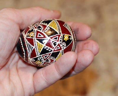 How to make a decorative egg. Pysanky - Step 17