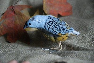How to make an ornament. Papier Mache Birds - Step 13