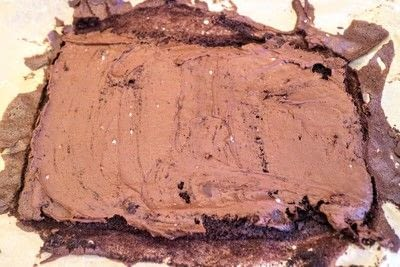 How to bake a roulade. Twin Peaks Talking Log Cake - Step 11