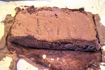 How to bake a roulade. Twin Peaks Talking Log Cake - Step 12