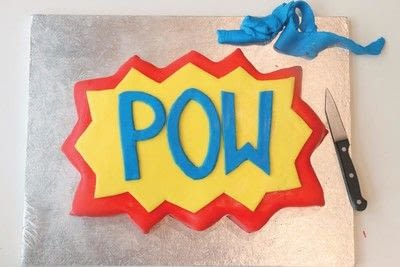 How to bake a cake. Pow Cake - Step 6