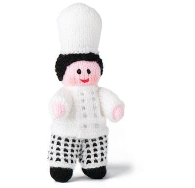 How to make a rag dolls / a person plushie. Chef - Step 8