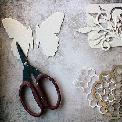 How to make a mixed media. Mixed Media Butterfly - Step 2