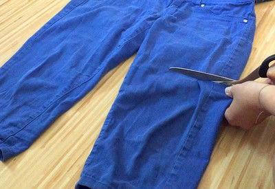 How to make shorts. DIY Shorts - Step 1