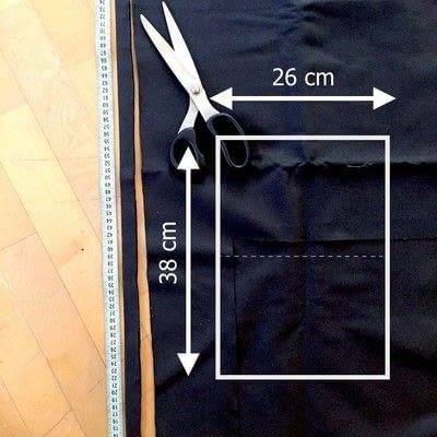How to make a shoulder bag. DIY Shoulder Bag - Step 1