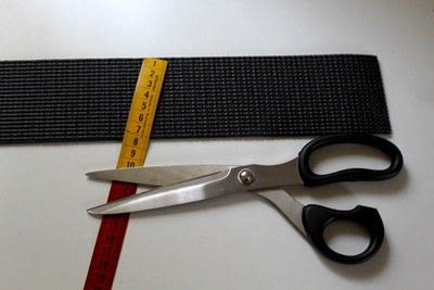 How to make an accessory. DIY Hairband And Waist Belt - Step 1