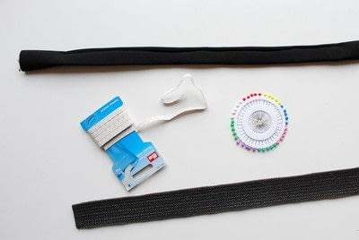 How to make an accessory. DIY Hairband And Waist Belt - Step 2
