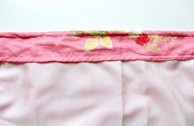 How to make a wrap skirt. DIY Wrap Skirt - Step 2