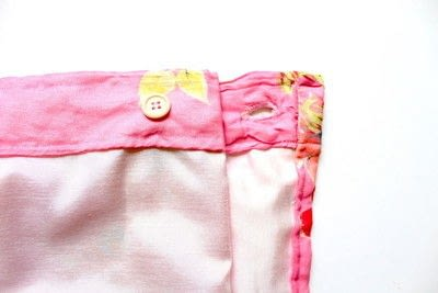 How to make a wrap skirt. DIY Wrap Skirt - Step 3