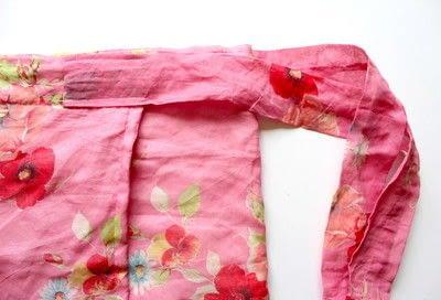 How to make a wrap skirt. DIY Wrap Skirt - Step 4