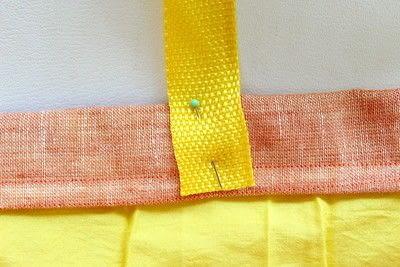 How to make a bag. DIY Summer Bag - Step 6