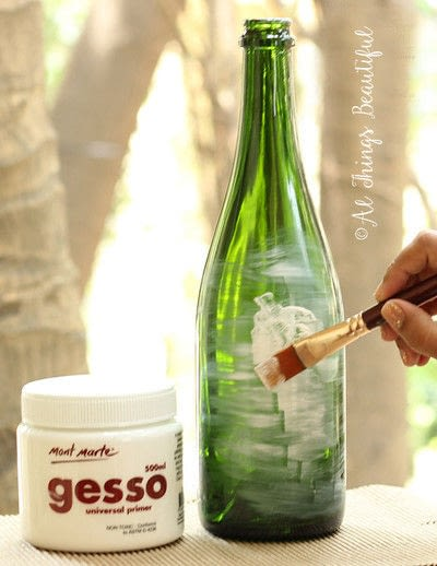 How to make a vase. Transformations Using The Craft Of Decoupage! - Step 1