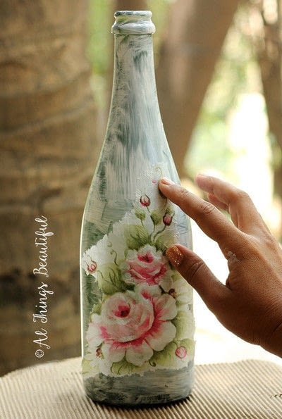 How to make a vase. Transformations Using The Craft Of Decoupage! - Step 2