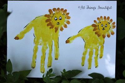 How to make a card. Most Wonderful Keepsake Kids Hand Print Art! - Step 2