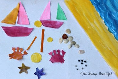 How to paint a piece of watercolor art. A Step By Step Watercolor Project That Kids Will Love! - Step 2