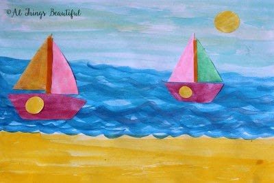 How to paint a piece of watercolor art. A Step By Step Watercolor Project That Kids Will Love! - Step 3