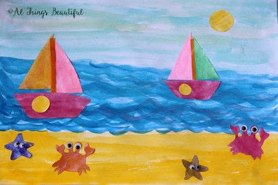 How to paint a piece of watercolor art. A Step By Step Watercolor Project That Kids Will Love! - Step 4