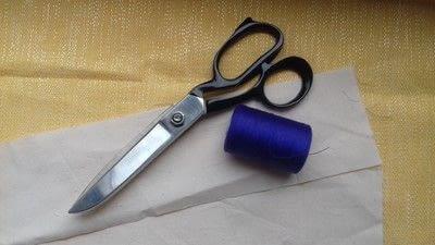 How to sew a seam. Flat Felled Seam - Step 1