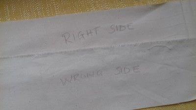 How to sew a seam. Flat Felled Seam - Step 3