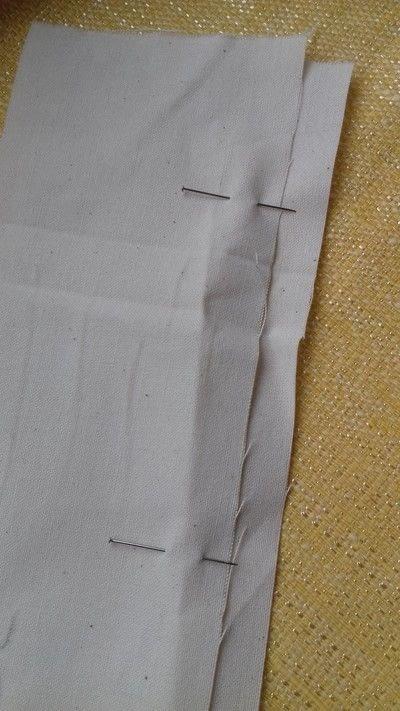 How to sew a seam. Flat Felled Seam - Step 4