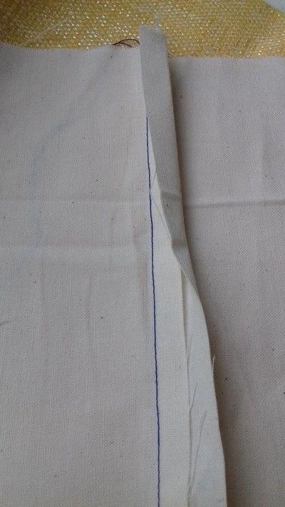 How to sew a seam. Flat Felled Seam - Step 7