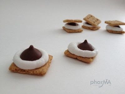 How to make a s'more. Mico S'Mores - Step 3