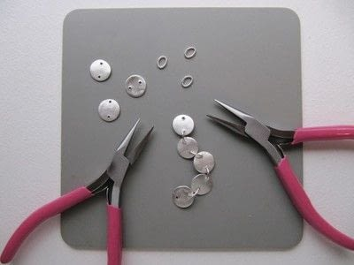 How to make a metal bracelet. Coin Bracelet - Step 8