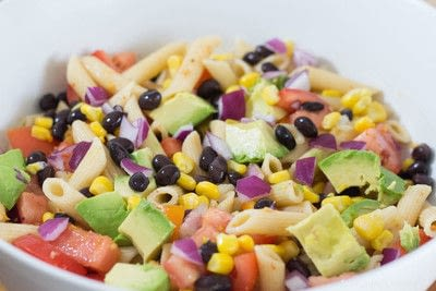 How to cook a pasta salad. Zesty Mexican Pasta Salad - Step 1