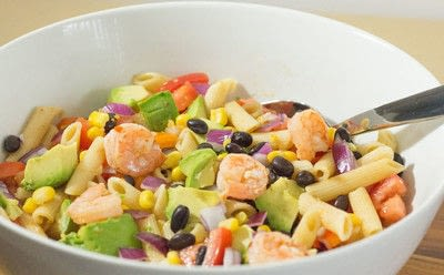 How to cook a pasta salad. Zesty Mexican Pasta Salad - Step 2