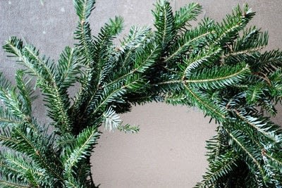 How to make a branch & twig wreath. Make A Natural Christmas Wreath For Less Than $5 - Step 6