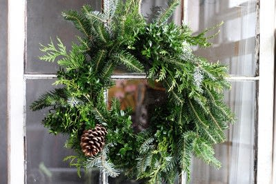 How to make a branch & twig wreath. Make A Natural Christmas Wreath For Less Than $5 - Step 7