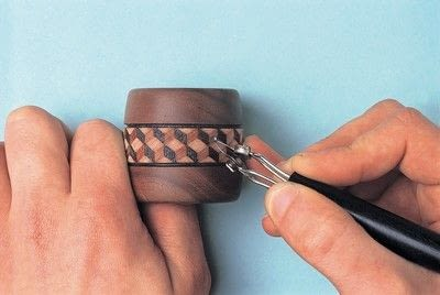 How to make a napkin / napkin ring. Woodburned Napkin Rings - Step 4