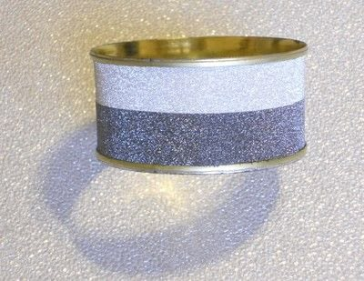 How to make a recycled bracelet. A One Day Art Deco Mock Bracelet - Step 1