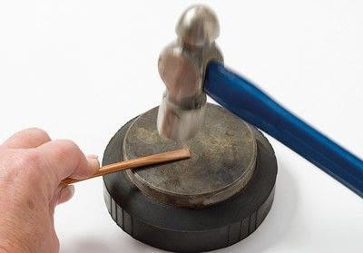 How to make a bangle. Copper Bangle - Step 1