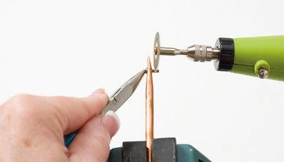 How to make a bangle. Copper Bangle - Step 4
