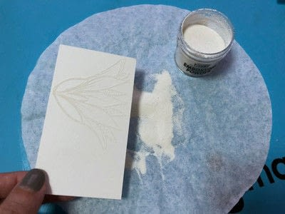 How to paint a watercolor card. Watercolor With Fireworks - Step 3