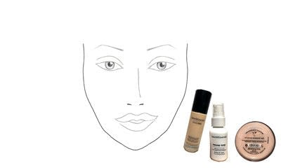 How to create a gold eye makeup look. Makeover Monday : Gwen Stefani Look 2 - Step 2